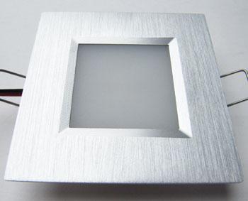 led einbauleuchten mit spritzwasserschutz in quadratischer bauform mit diffuser abstrahlung. Black Bedroom Furniture Sets. Home Design Ideas