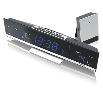 funk thermometer funk projektionsuhr funk wanduhr. Black Bedroom Furniture Sets. Home Design Ideas