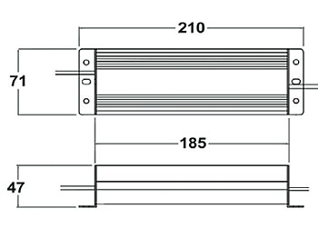 24v led konverter von wohlrabe lichtsysteme. Black Bedroom Furniture Sets. Home Design Ideas